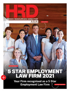 HRD Asia 5 Star Employment Law Firms - Standard PR package
