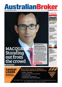 Australian Broker September 2013 issue 10.18 (available for immediate download)