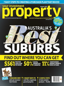 2013 Your Investment Property August issue (available for immediate download)