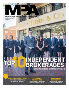 Mortgage Professional Australia November 2013 issue (available for immediate download)