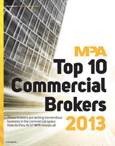 Top 10 Commercial Brokers 2013 (available for immediate download)