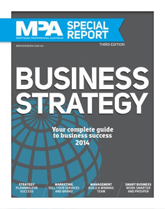 MPA Business Strategy 2014 (available for immediate download)