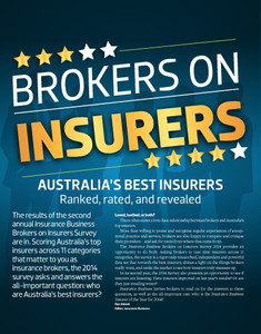 2014 Brokers on Insurers (available for immediate download)