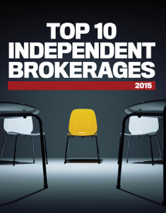 2015 Top 10 Independent Brokerages (available for immediate download)