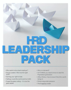 HRD Leadership Pack (available for immediate download)