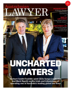 2016 Australasian Lawyer 3.01 issue (available for immediate download)