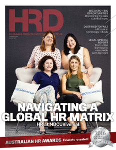 2016 Human Resources Director July issue (available for immediate download)
