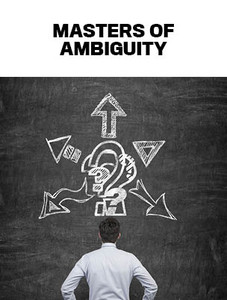 Masters of ambiguity (available for immediate download)
