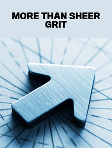 More than sheer grit (available for immediate download)