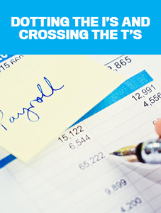 Dotting the I's and crossing the T's (available for immediate download)