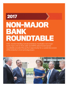 2017 Non-major Bank Roundtable (available for immediate download)