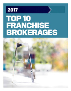 2017 Top 10 Franchise Brokerages (available for immediate download)