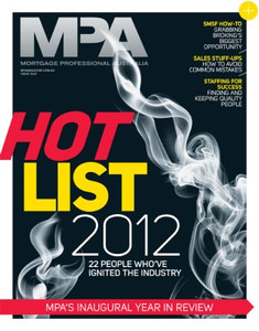 Mortgage Professional Australia January 2013 issue (available for immediate download)