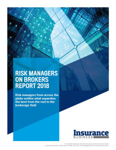 Risk Managers on Brokers Report 2018 – Single User License (available for immediate download)
