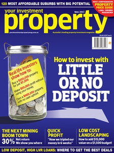 2013 Your Investment Property May issue (available for immediate download)