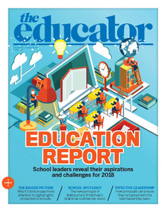 2018 The Educator 4.01 issue (available for immediate download)