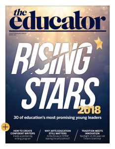 2018 The Educator 4.02 issue (available for immediate download)