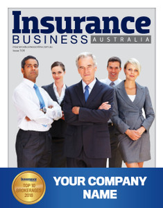 Custom cover A1 poster - 2018 Insurance Business Australia Top 10 Brokerages