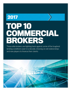 2017 Top 10 Commercial Brokers (available for immediate download)