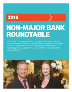 2018 Non-Major Bank Roundtable (available for immediate download)