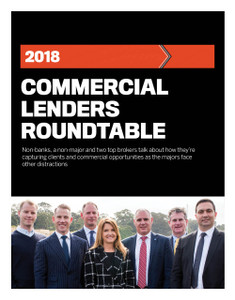 2018 Commercial Lenders Roundtable (available for immediate download)
