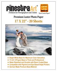 "Voted ""Best Luster/Semi-Gloss"" 2014 Professional Photographer Magazine, Hot One Award"