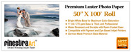 """50"""" X 100' Premium Luster Photo Paper - Roll"""