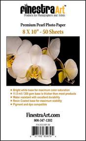 8x10 Premium Pearl Photo Paper