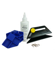Finestra Gallery Wrap Corner Kit Pro (Canvas Trimmer, Corners, Glue, Pins)