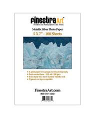 5x7 Metallic Silver Photo Paper 100 sheets