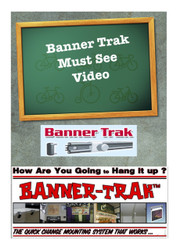Banner-Trak Wall  Mounting Kit  4 to 8ft