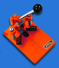 Corner Round Cutter  Orange with 1/4 and 3/8 die set