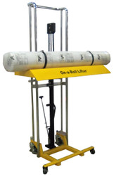 "Hi-Rise On-A-Roll Lifter for picking up media rolls up to 47.25"" W  x 71"" High   2016"