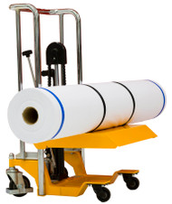 "On-A-Roll Lifter  "" COMPACT"" for picking up media rolls up to 74"" wide"