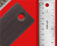 "Flat Ruler 12"" Magnetic Back   3 Pack"