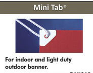 Banner Hang MINI Power Tabs    100pc