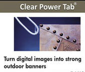 Banner Hang  CLEAR - Power Tabs    100pc