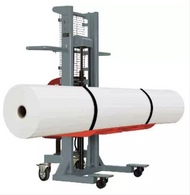 "On-A-Roll Lifter for picking up rolls 16.4"" wide Weight Capacity 990 lbs Power JUMBO"