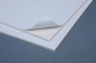 "WHITE  Peel and Stick FOAM CORE 3/16"" 8x10- 22 sheets"