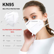 KN95 Mask- Disposable Safety Masks - BULK - 50 boxes-  (500 in the case)