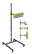 "Infrared  Wrap Heating System for AD Wraps 1000 watts  18"" with stand"