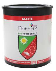 Premier Art ECO Print Shield -Water Based for Canvas Matte - 1 Quart