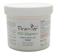 Premier Art Eco Elegance  Embellishing Gel  1 Quart  Clear