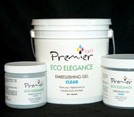 PremierArt Eco Elegance  Embellishing Gel  5 Gallon  Clear