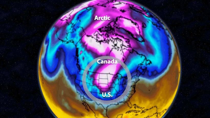 Arctic Blob Winter Storm