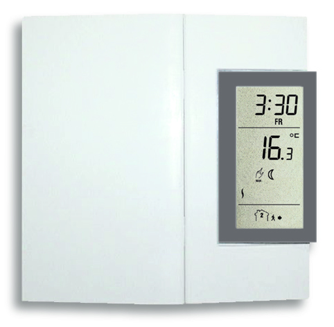 Wall Mounted Space Heater Thermostat Amp Timer Eheat Inc