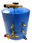 SureCal 30 litre / 7.92 gal Vertical Twin Coil Calorifier