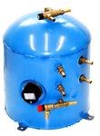SureCal 35 litre / 9.24 gal Vertical Twin Coil Calorifier