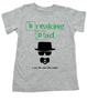 Breaking Dad toddler shirt, Heisenbaby, I am the one who naps, Heisenburg, Badass kid, Breaking Bad, grey