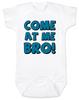 Come at me bro baby onesie, funny tough baby onesie, come at me bro